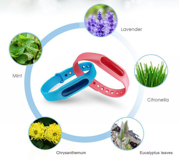 New style natural anti citronella mosquito bracelet