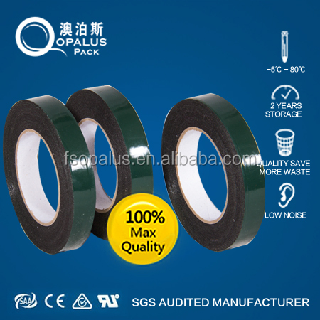 Strong adhesive factory direct supply double sided die cut foam tape