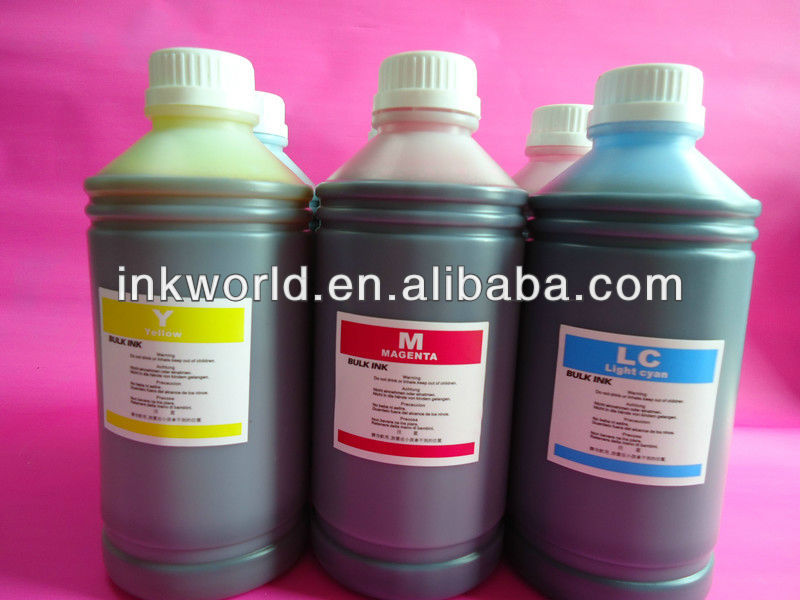 the best quality dye ink for Skycolor SC-5500, 6 colors water based ink for Skycolor