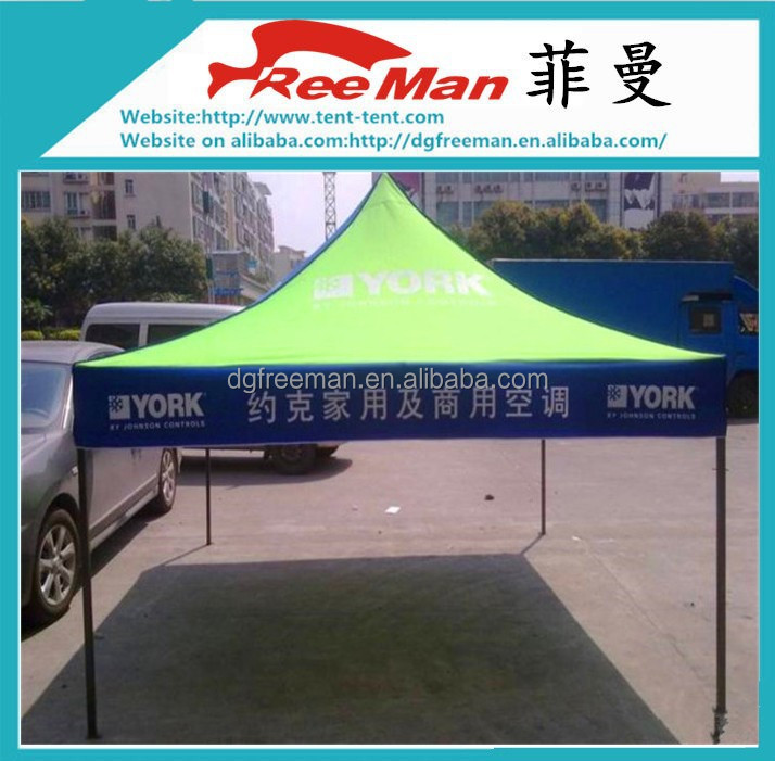 Durable 420D oxford advertising 3x3m foldable gazebo replacement canopy