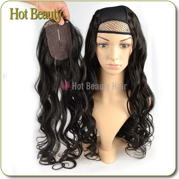 New Arrive <strong>U</strong> Part Human Hair Wig With Free Closure Peruvian Hair <strong>U</strong> Part Wigs