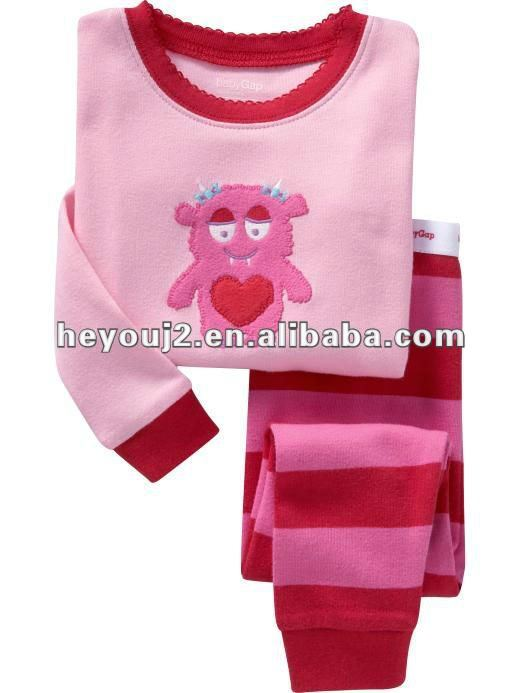 Latest design 100% cotton embroider overstock children clothing