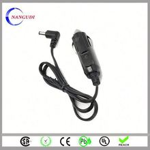 automotive cigarette lighter cable for solar battery