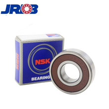 Original Japan NSK chrome steel Motor Cycle deep groove ball bearings 6301 for perforating machine