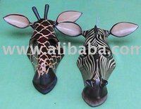 Giraffe crafts,Zebra Head mask