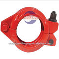 grooved pipe clamp-flexible pipe clamp