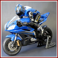 W3388 1:4 rc motorcycle with Light
