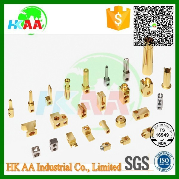 Custom size brass contact pins connector sockets terminal blocks