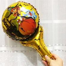 Aluminium Foil Balloon Halloween Ghost Multicolor Halloween Pumpkin Custom Printed Balloons