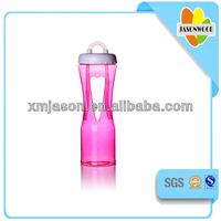 heart plastic cup for 2014,drinking bottle with straw