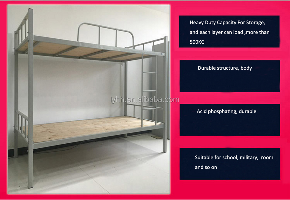 fast delivery direct school furniture metal wall bed cheap used bunk beds for sale with desk. Black Bedroom Furniture Sets. Home Design Ideas