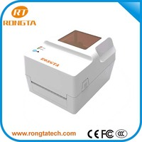 "4"" Thermal transfer barcode label printer for packaging machine"