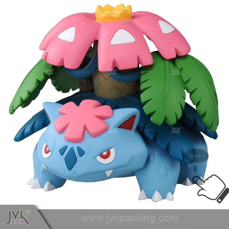 Top quality PET material pocket monsters action figure pokemon go toys