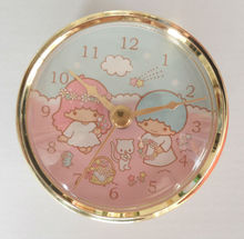 Good quality 80mm quartz clock insert with gold plating bezel and custom clock face