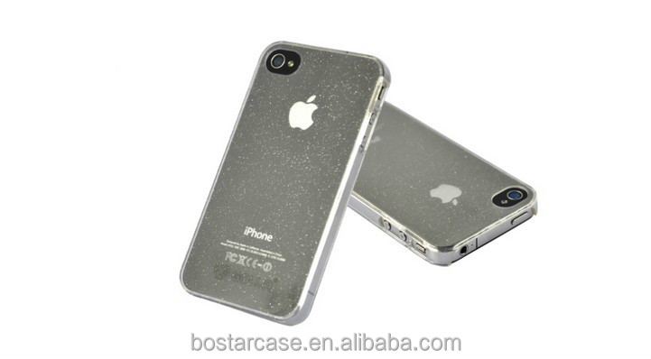 Shiny phone case for iphone 4