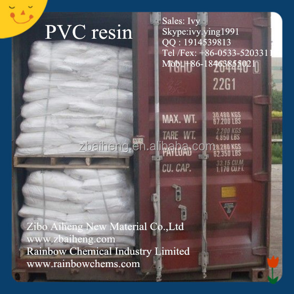 China k value 65 pvc resin