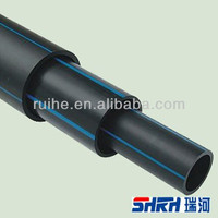 ISO4427 PN8 (SDR21)/PN10 2.0-57.2mm Thickness HDPE pipe/joint for hdpe pipes for water supply