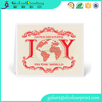 Custom paper business thank you thanksgiving card