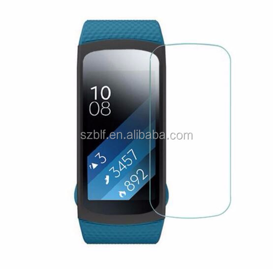 Ultra thin high clear anti-shock scratch resistant TPU film for samsung gear fit 2 screen protector