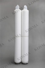 IPF Series Hydrophobic PTFE Membrane Filter 0.1 Micron 10 Inch Purifier Filter for Gas Sterile Filtration