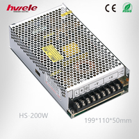 Newest item 200W electronic LED power converter high efficiency low cost with CE ROHS KC 2 years warranty