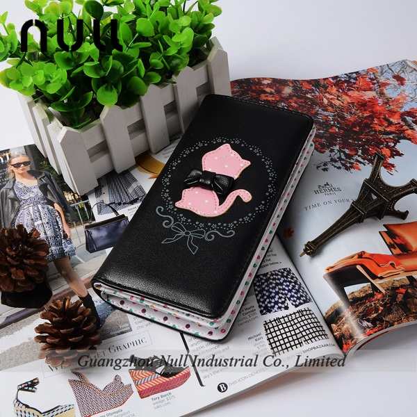 Best selling cartoon Pu leather wallet cell phone case