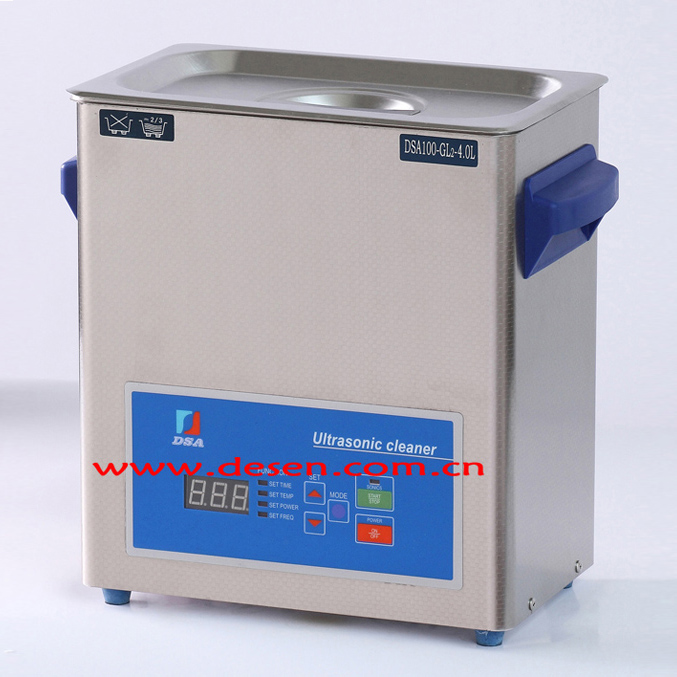 100W 4L Digital Power Adjustable Ultrasonic Cleaner DSA100-GL2