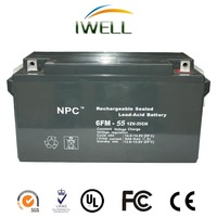 China manufacturer OEM brand Inverter AGM Vrla Battery 12v 55ah