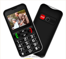 CE certificate gsm old age people cell phoneEnglish,Italian,French,Spanis language large buttons and loud speaker seniors phone
