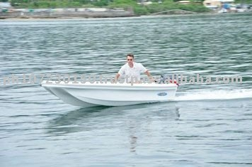 CE Approved Fibeglass Fishing Speed Boat