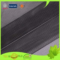 100% polyester hexagonal wire mesh hard tulle net fabric