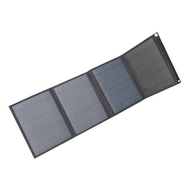 More than 18% high efficiency 40w foldable solar panel