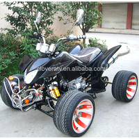 Manual Transmission 125CC Racing Quad ATV with Reverse Gear