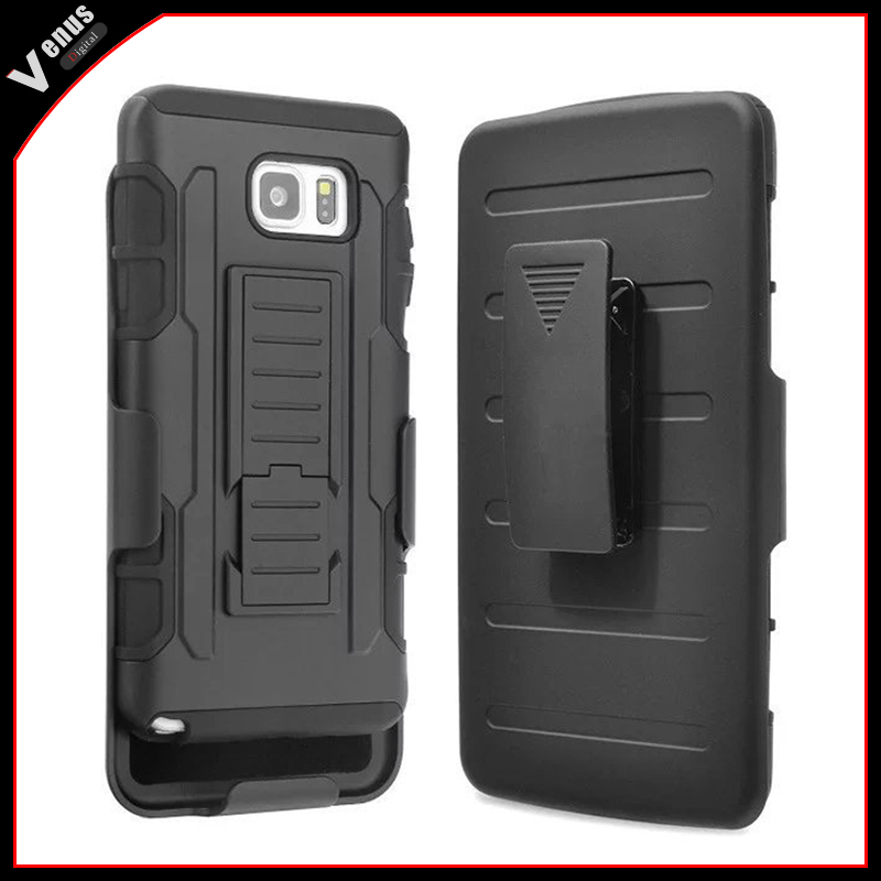4 Styles Future Armor Hybrid Case Military 3 in 1 Combo Cover For Samsung Galaxy Note 4 Note 3 S4 S5 Stand Case Triple Full Capa
