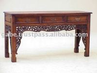 CHINA CARVED CONSOLE TABLE