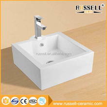 Best-selling square delicate home wash basin india