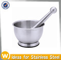 Stainless Steel Spice Grinder, mortar and pestle Set