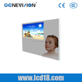 wide lcd ad player wifi bus lcd ad display touch screen mirror