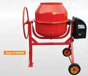 Construction machinery garden 180L concrete mixer with electric motor