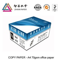 High quality wood pulp A3 70gsm 80gsm copy paper , photocopy paper , office paper