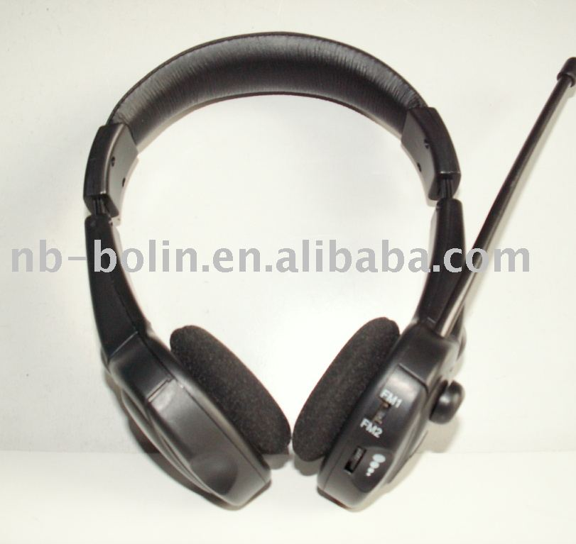 New FM Wireless headphone with MIC