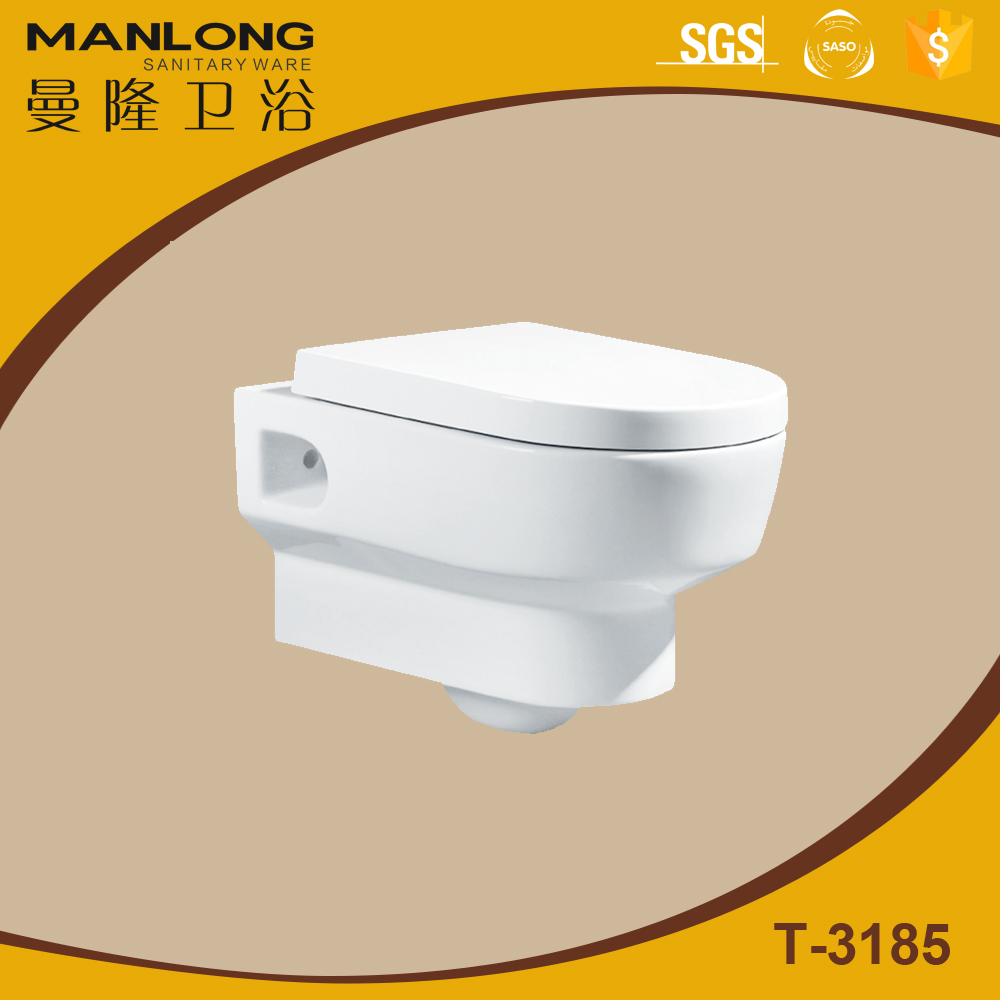 sanitary ware bathroom wall-hung toilet