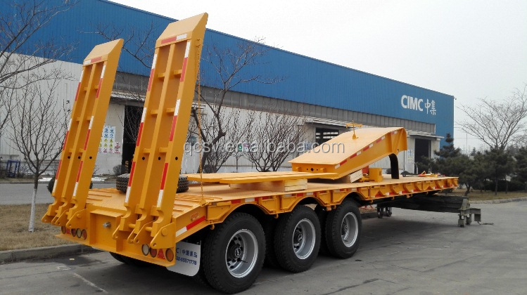 Lowbed trailer in SKD