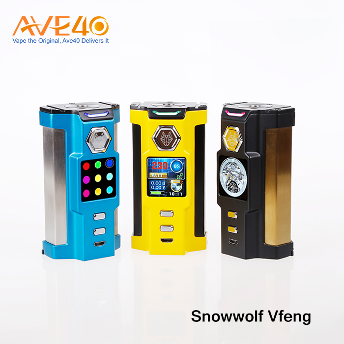 Ave40 New Arrival Adjustable Airflow 50W Eleaf Pico Squeeze with Coral Full Kit