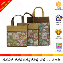 China Yiwu supplier custom made reusable wholesale shopping pp non woven bag