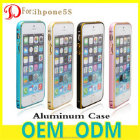 2016 New Fashion Aluminum Bumpers Phone Case For iphone 5 5s