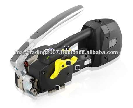 Battery Powered Automatic Combination Plastic Strapping Tool