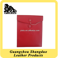 Alibaba Gold Supplier Factory Promotion Product A4 Leather Document Bag