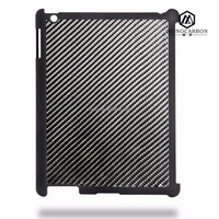 High Quality Luxury 3K Twill Wave Carbon Fiber PC Tablet Cases For iPad 2 3 4