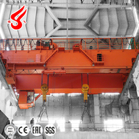 Double beams double girder bridge crane passed 3rd inspection